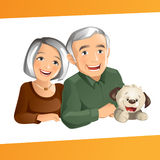 Grand Parents royalty free stock photography