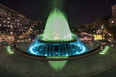 Grand Park Fountain. In downtown Los Angeles Stock Image