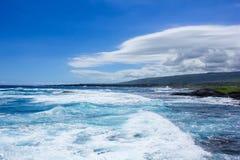 Grand paysage d'île Image libre de droits