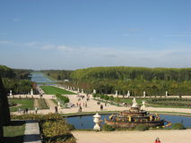 The Grand Perspective Versailles Royalty Free Stock Photo
