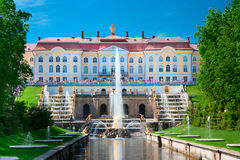 Grand Petergof Palace Royalty Free Stock Photos