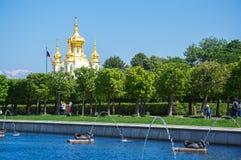 Grand Peterhof Palace Royalty Free Stock Images