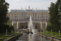 Grand Peterhof Palace Royalty Free Stock Images