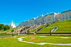 Grand Peterhof Palace Stock Image
