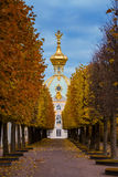 The Grand Peterhof Palace Royalty Free Stock Photography