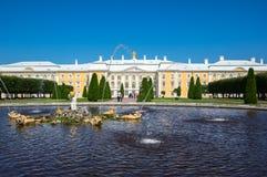 Grand Peterhof Palace Stock Photo