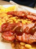Grand petit déjeuner ou brunch Image libre de droits