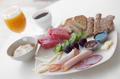 Grand petit déjeuner sain Photo libre de droits