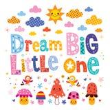 Grand petit le rêveur Image libre de droits