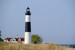Grand phare de point de sable en dunes, construites en 1867 Image libre de droits