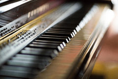 Grand piano Stock Photos