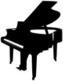 Grand Piano. For Letterheads Royalty Free Stock Photos