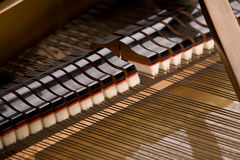 Grand piano close-up Royalty Free Stock Image