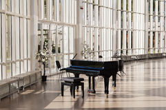 Grand Piano In The Hall Royalty Free Stock Photo
