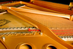 Grand Piano Interior Stock Photography