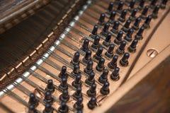 Grand Piano Interior Stock Photo