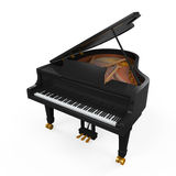 Grand Piano Isolated Royalty Free Stock Photos