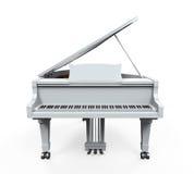 Grand Piano Isolated Stock Photo