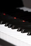 Grand Piano Keyboard Royalty Free Stock Images