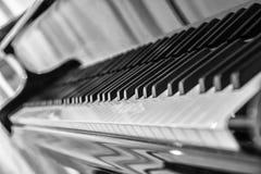Grand Piano Keyboard Royalty Free Stock Photos