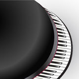 Grand piano keys Stock Image
