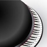 Grand piano keys Stock Image