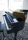 Grand piano modern Royalty Free Stock Photos