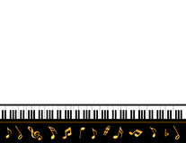 Grand Piano Music Poster vector illustration