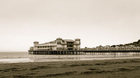 Grand Pier at the morning Stock Photos