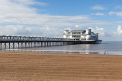 Grand Pier, Weston-super-Mare. Royalty Free Stock Image