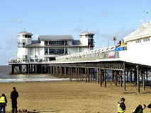 Grand pier, Weston-Super-Mare. Stock Photography