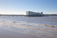 Grand pier,Weston Super Mare, Somerset Stock Photo