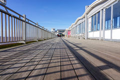 Grand Pier, Weston-Super-Mare. In Somerset, England Stock Photos