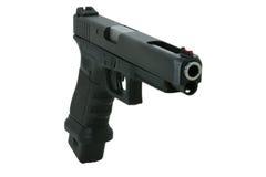 Grand pistolet de calibre photo stock