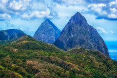 Grand Pitons Stock Photos