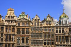 The Grand Place. In Brussels, Belgium stock photos