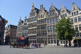 Grand place in Antwerp Royalty Free Stock Photography