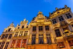 Grand Place, Brüssel, Belgien stockfotografie