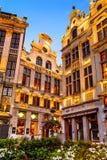 Grand Place, Brüssel, Belgien Lizenzfreie Stockbilder