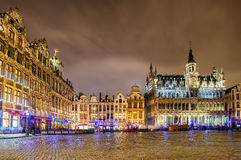The Grand Place with Breadhouse, Brussels, Belgium Stock Image