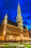Grand Place, Bruselas, Bélgica Imagen de archivo libre de regalías
