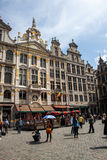 Grand Place, Brussel Stock Foto