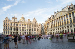 Grand Place In Brussel. The famous Grand Place in Capital City of Belgium - Brussels royalty free stock image