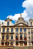 Grand Place, Brussels. Guildhalls on the Grand Place, Brussels, Belgium royalty free stock images