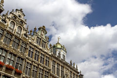 Grand Place in Brussels Royalty Free Stock Image