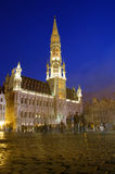 Grand Place in Brussels Royalty Free Stock Photos