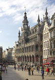 Grand Place Brussels Stock Photo