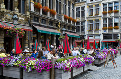 Grand place - Brussels Royalty Free Stock Image