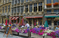 Grand place - Brussels Stock Image