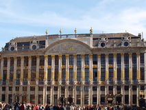 Grand Place In Brussels Royalty Free Stock Photography